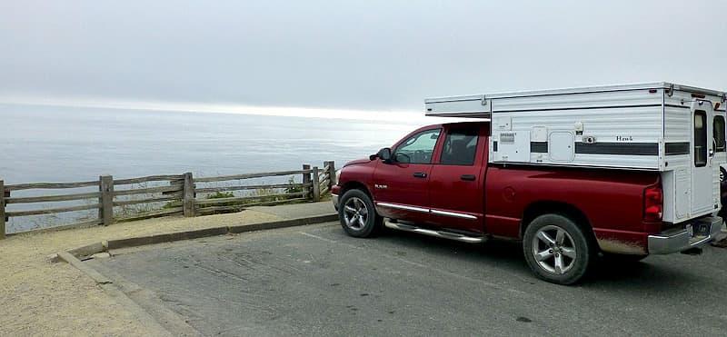 California Coast, Pacific Ocean overlook