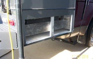 CampLite exterior storage doors added
