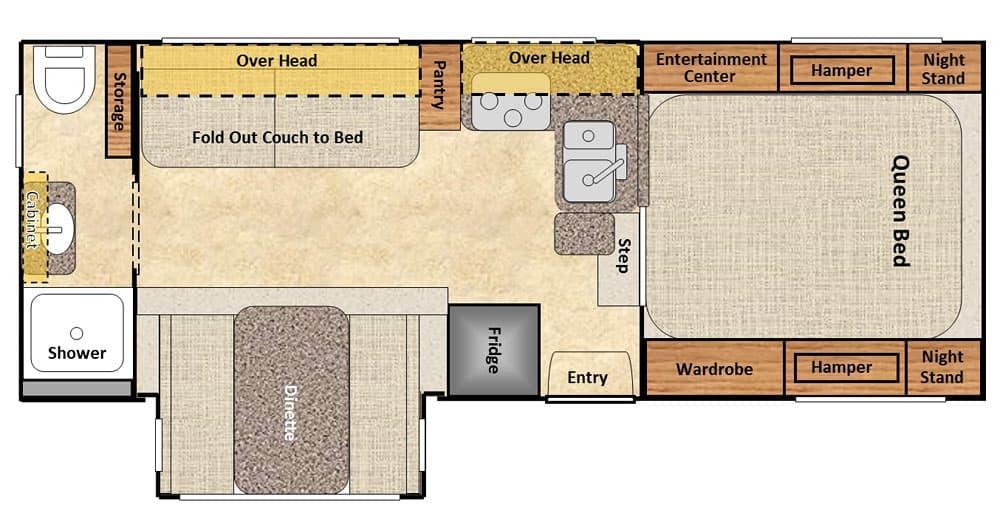 Dream Camper Floor Plan Contest - Part 2