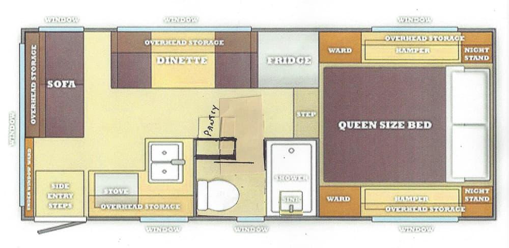 Dream Camper Floor Plan Contest Part 1