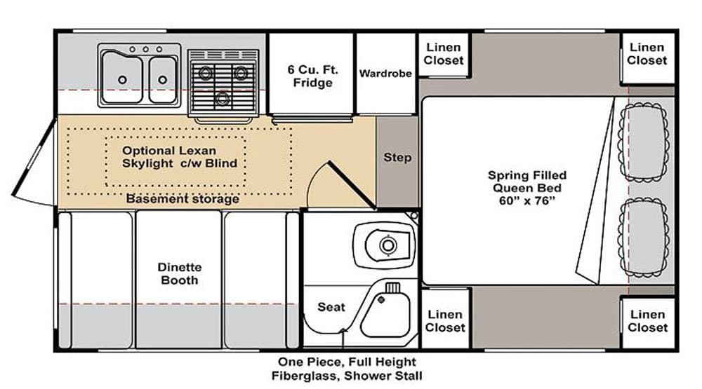 Dream Camper Floor Plan Contest Part 1