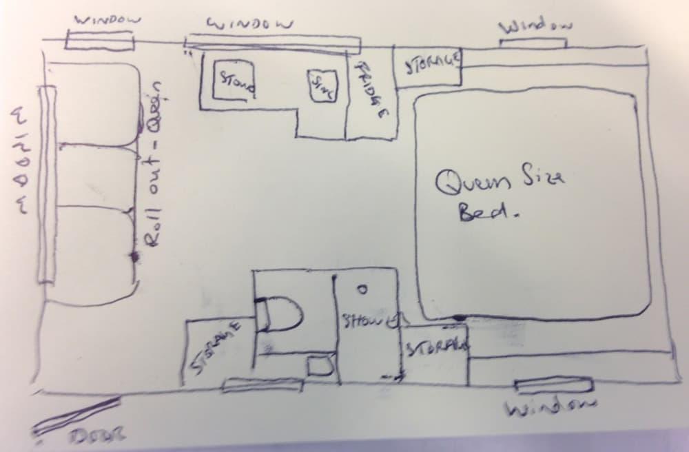 Dream Floor Plans bedroom design blue design kitchen