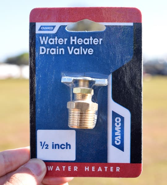 Water-Heater-Maintenance-drain-valve