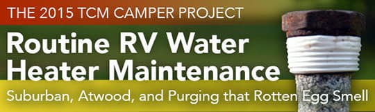 RV Water Heater Maintenance