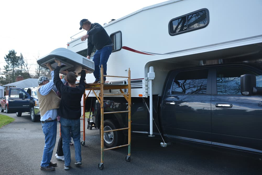 Installing An Air Conditioner On A Truck Camper