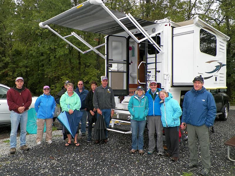 Truck Camper Open House at Gettysburg Campground Rally