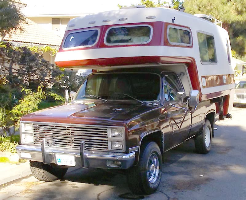 Red American Road Camper Restoration