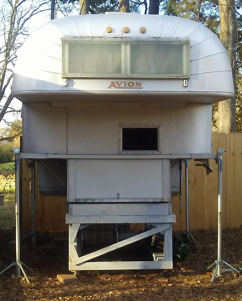 Camper Restoration, Avion Camper