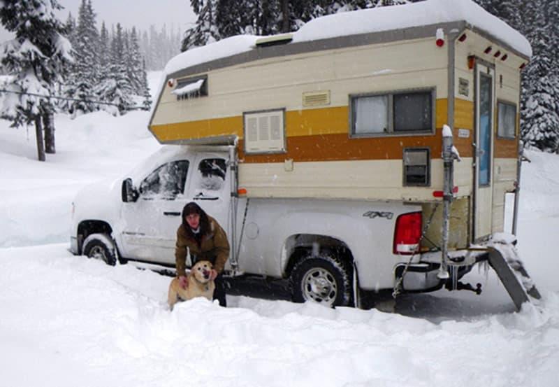 1974 El Dorado truck camper