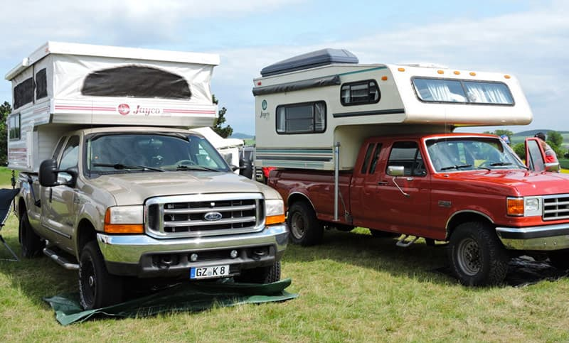 Jayco truck camper restoration