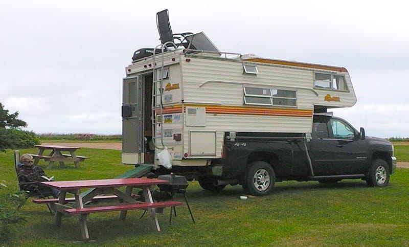 1979 Sunline truck camper