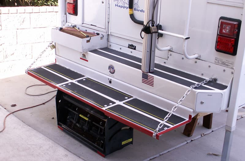 Camper-bumper-extension