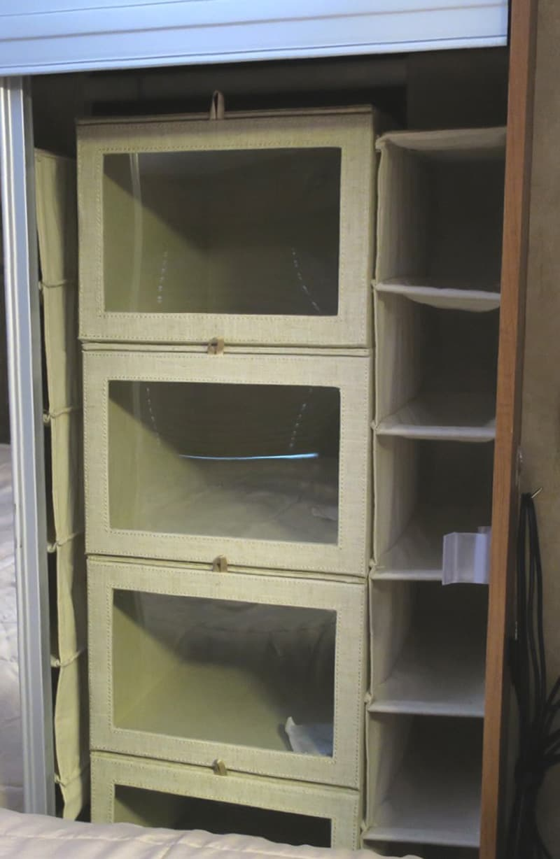 Camper Organization Wardrobe Closet Shoe Caddies
