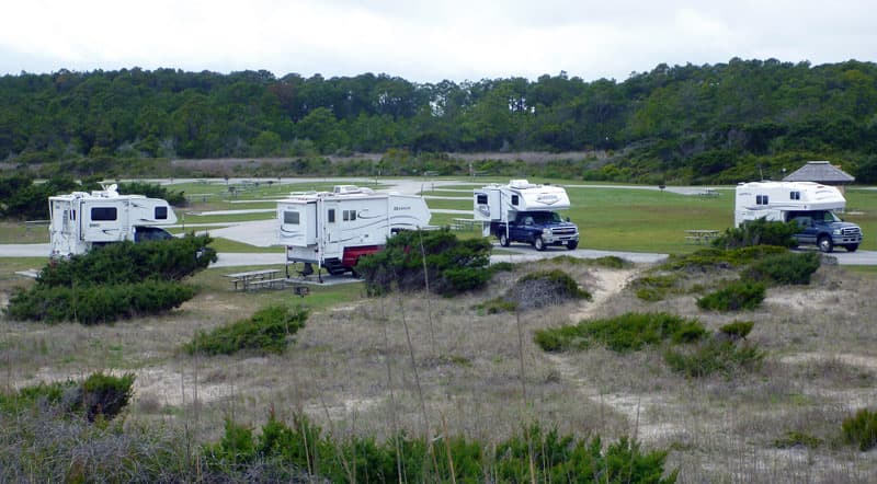 Ocracoke Island Campers Ocracoke Campground