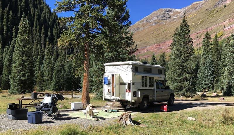 Campground in Colorado