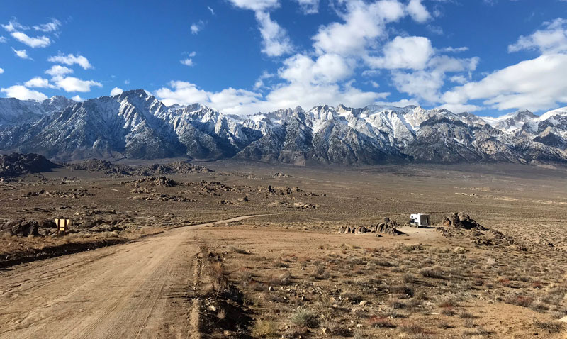 Camping Alabama Hills For Free