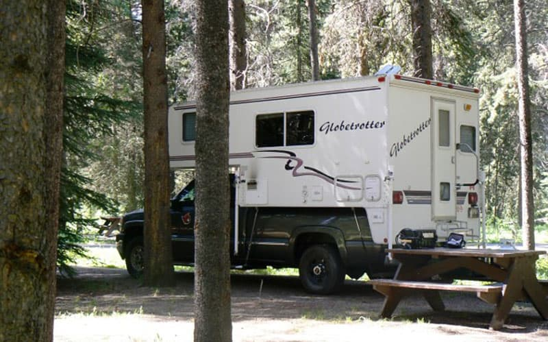 Camping Canadian Rockies