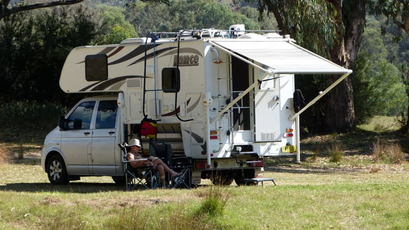 Camping with Lance 825 in Australia