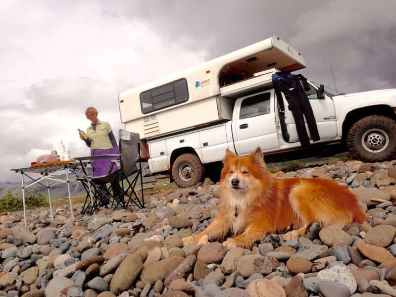 Camping At Snaefellsnes Peninsula Ocean Beach Iceland