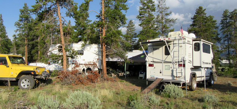 Camping Cool In Leadville, Colorado