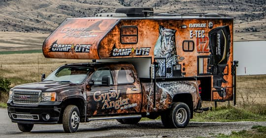 Gypsy Angler Truck Camping For Television