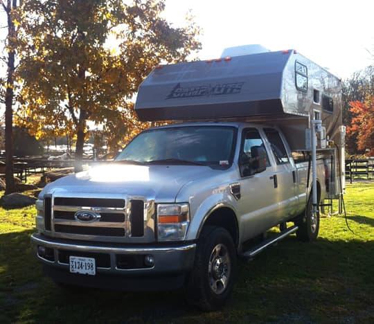 Camping Catch as Catch Can Truck Camper Magazine