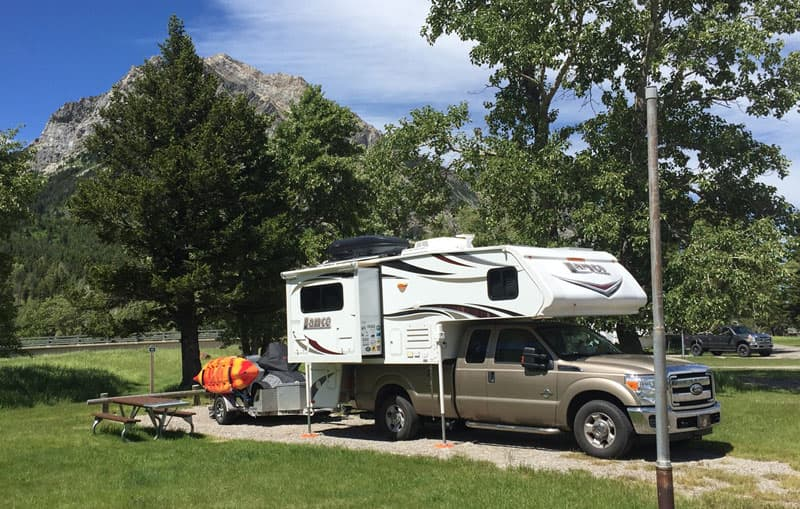Townsite Campground in Waterton Lakes National Park