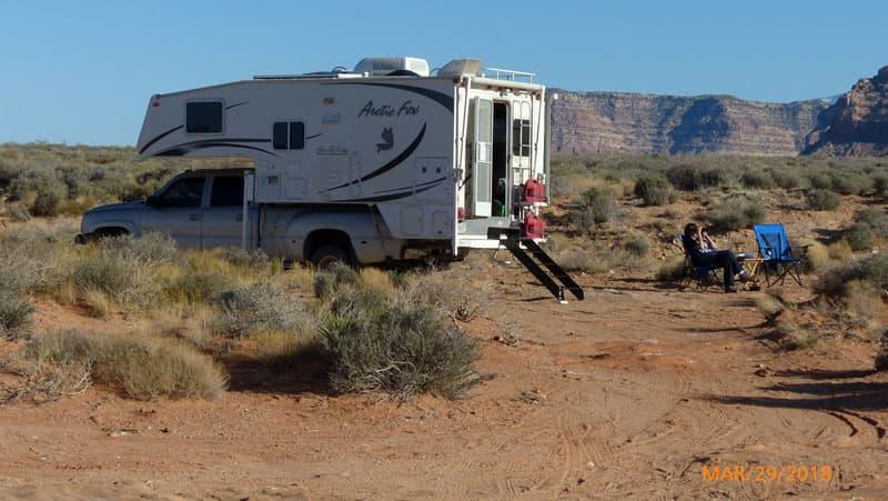 Campsite With Arctic Fox 1150 Camper