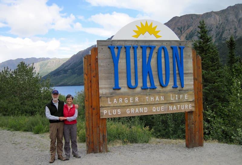Yukon Sign Canada Adventure