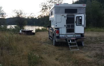 Camping at Lake of Trees