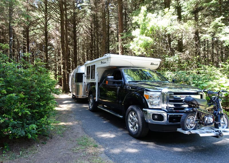 Cape Blanco with Airstream
