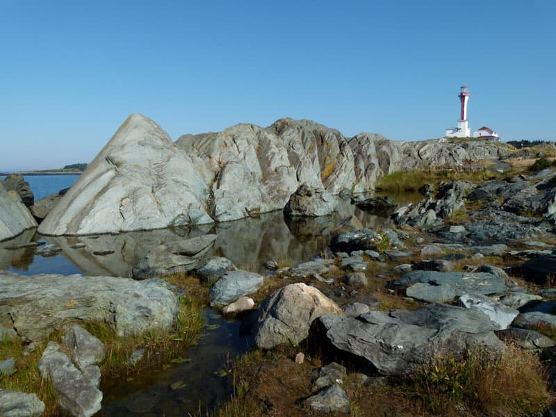 Cape Forchu Lighthouse Nova Scotia