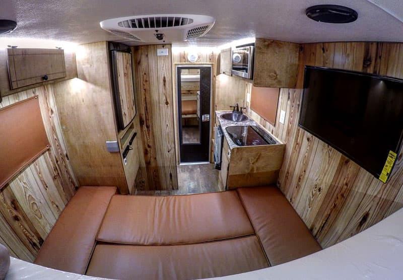 Capri Camper Cedar Interior-
