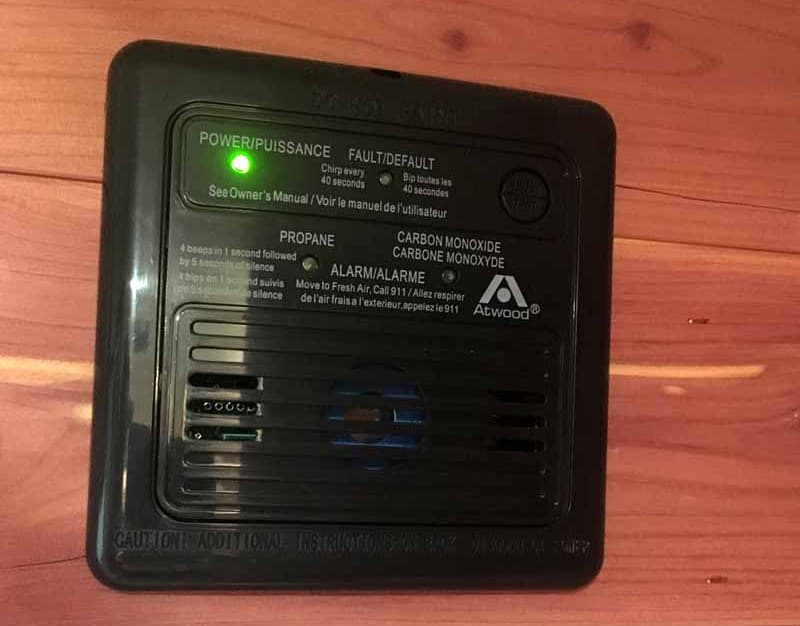 Capri Camper LP-CO detector