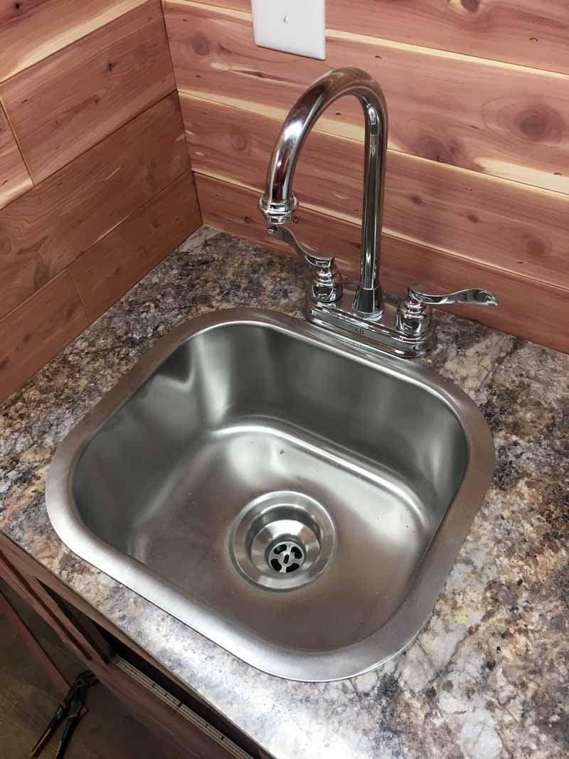 Capri Camper new faucet