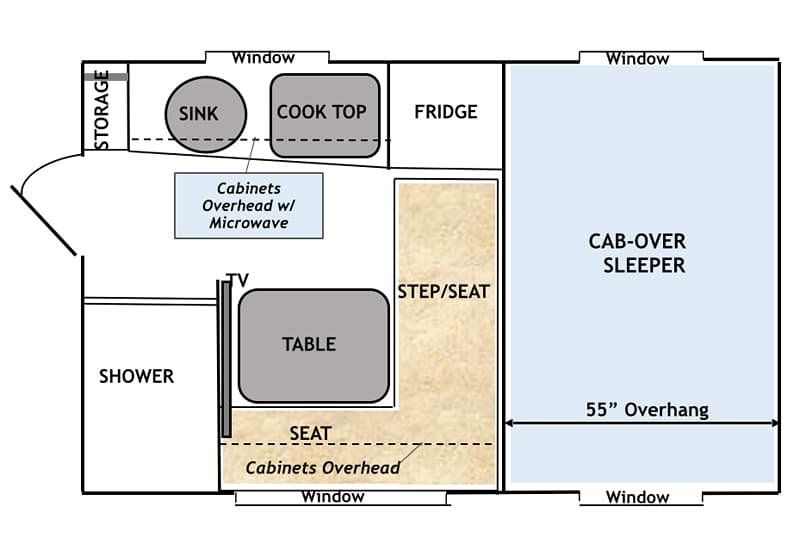 Capri camper new owners new vision - Fine bed plans images ...