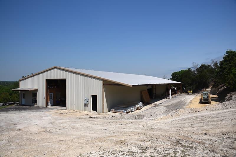 Capri Factory construction