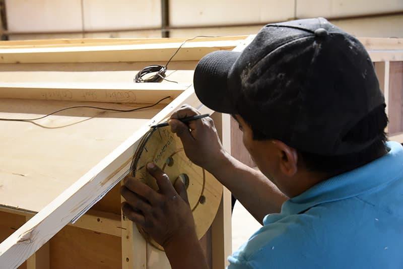 Capri Cowboy Roof Installation