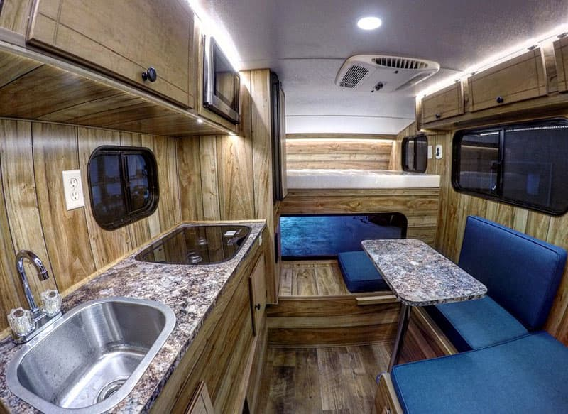 Capri Retreat Camper interior Cedar