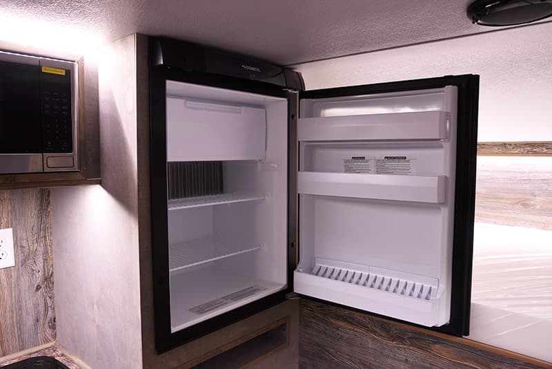 Capri Retreat refrigerator open