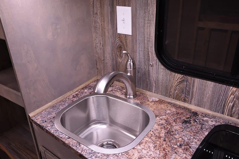 Capri Retreat kitchen sink