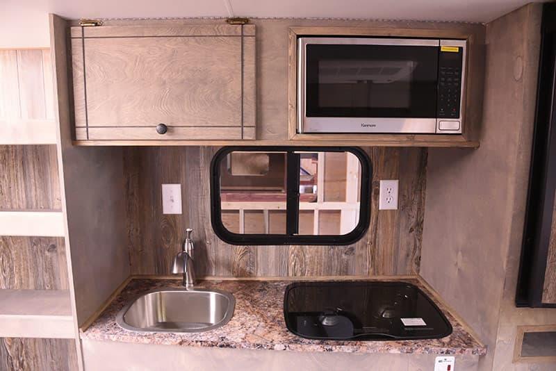 Capri Camper kitchen