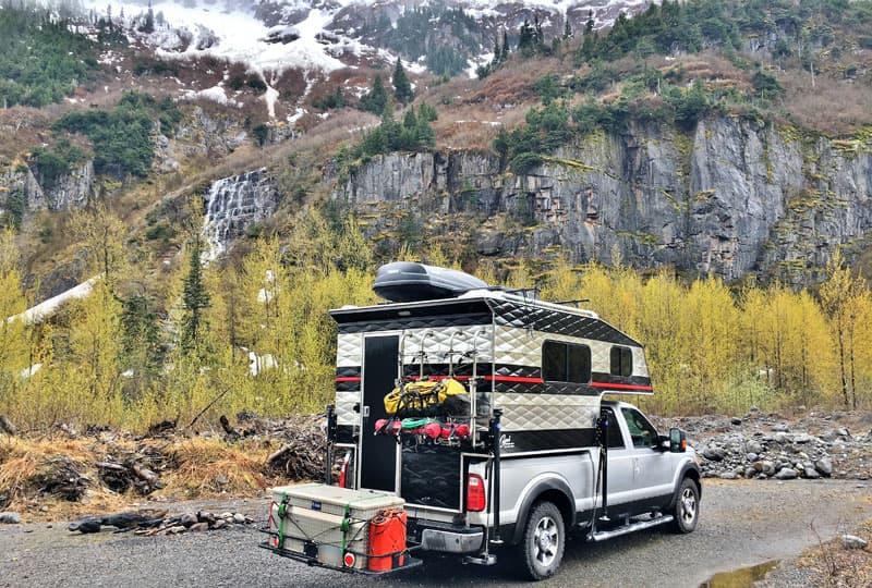 Capri camper in Canada