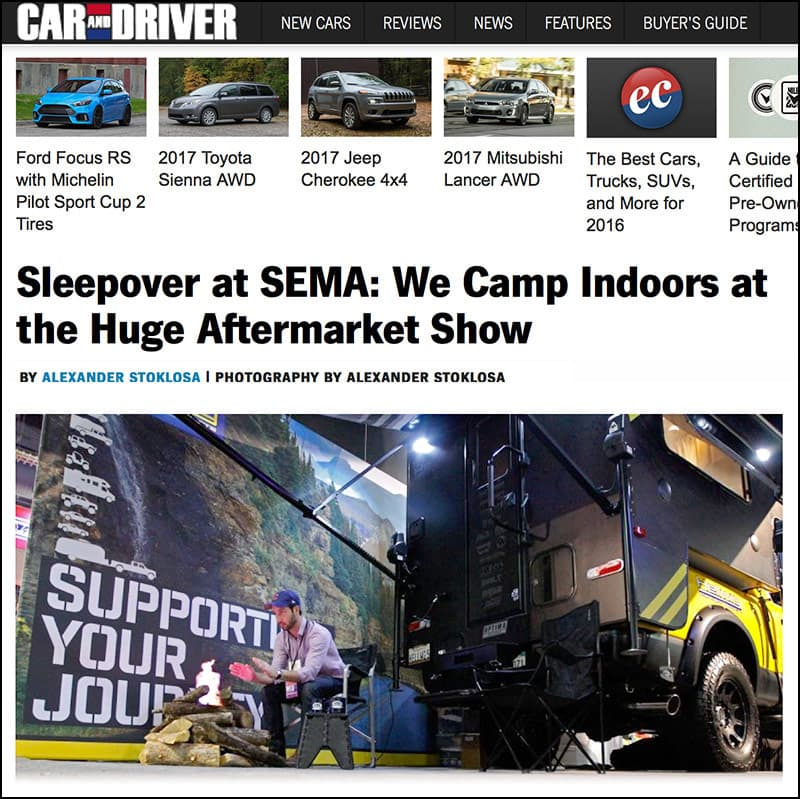 Car and Driver, Rule Breaker at SEMA