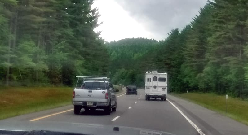 Caravan through Vermont and New York