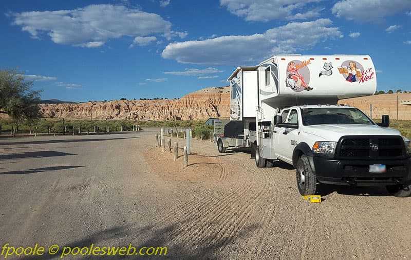 Cathedral Gorge Campground Nevada