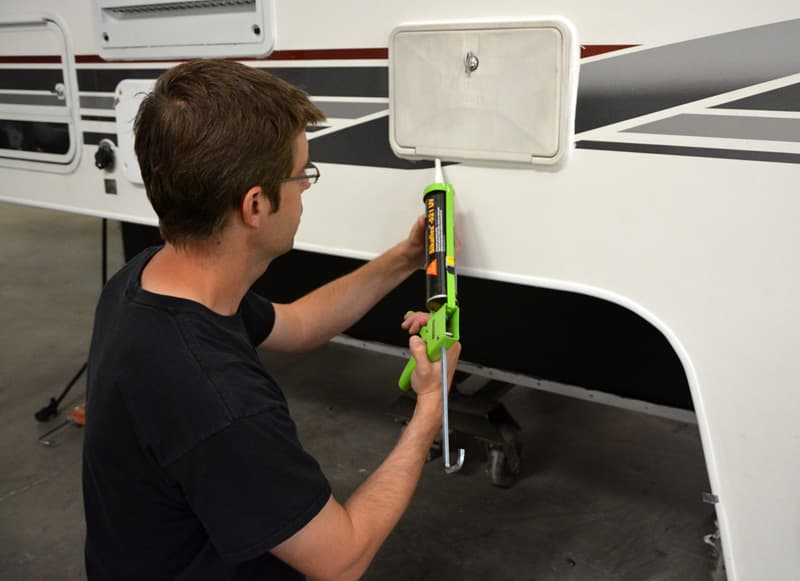 Caulking Camper Sikaflex Sealant