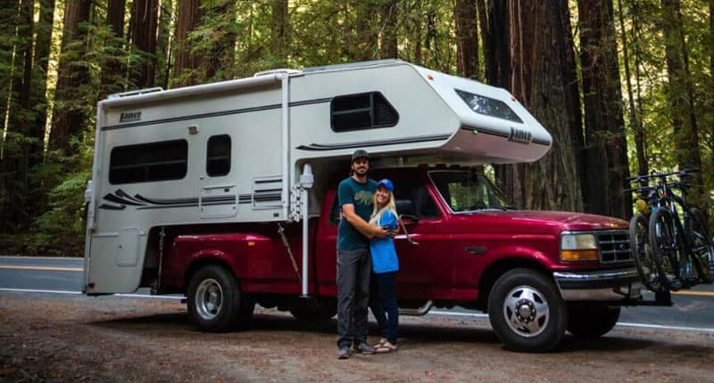 Cayetano And Christelle With Lance 1130 Camper