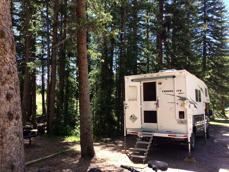 Cayton campground