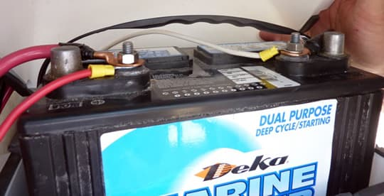 rv house battery wiring promaster diy camper van conversion twelve volt rv circuits down to the wire 12 volt deka battery